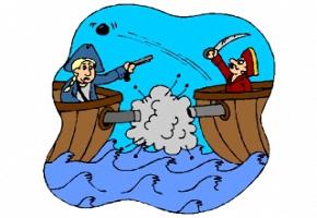 ausmalbilder piraten kanone