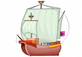 Ausmalbilder Piratenschiff Gratis Ausdrucken