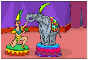 Malvorlagen Zirkus Kostenlos Ausdrucken